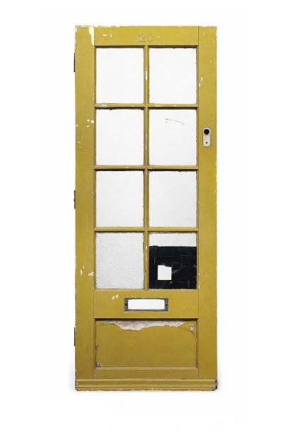 The door to Paul McCartney's childhood home, Christie's lot #1