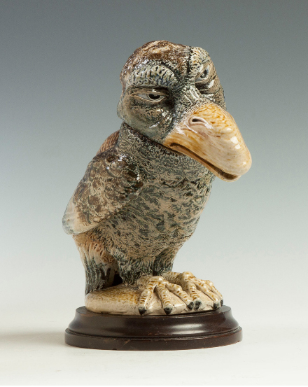 Martin Brothers bird, Cottone lot #539