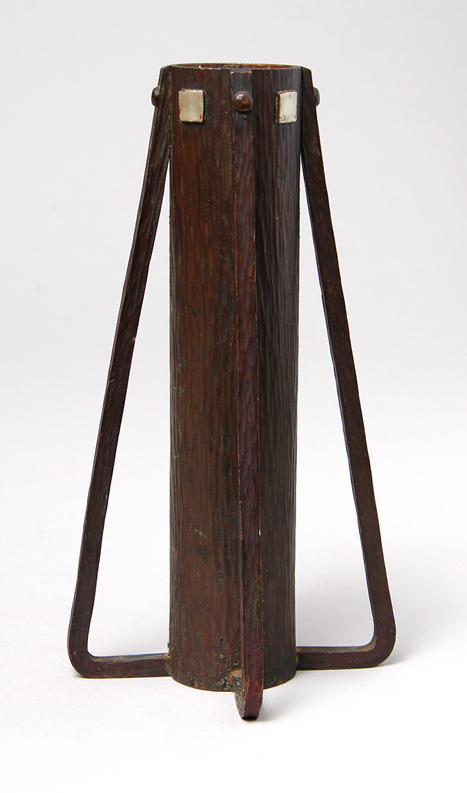 Rare Dard Hunter-designed Roycroft vase