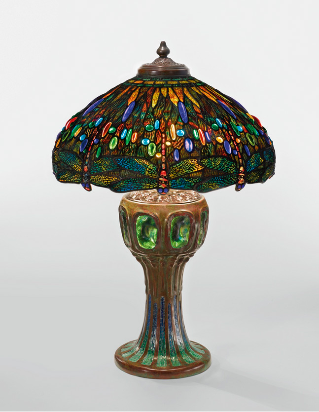 Tiffany  table lamp, Sotheby's lot #218