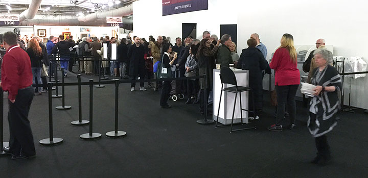 Attendance was good at the Pier Show at the opening last March