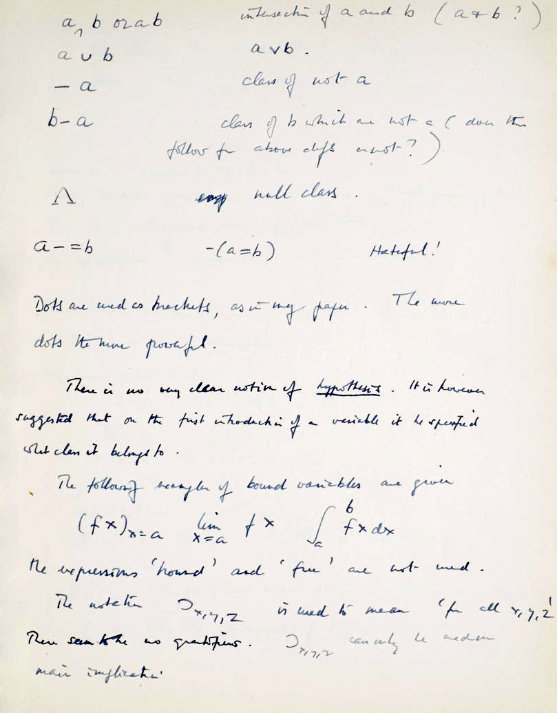 A page from the manuscript