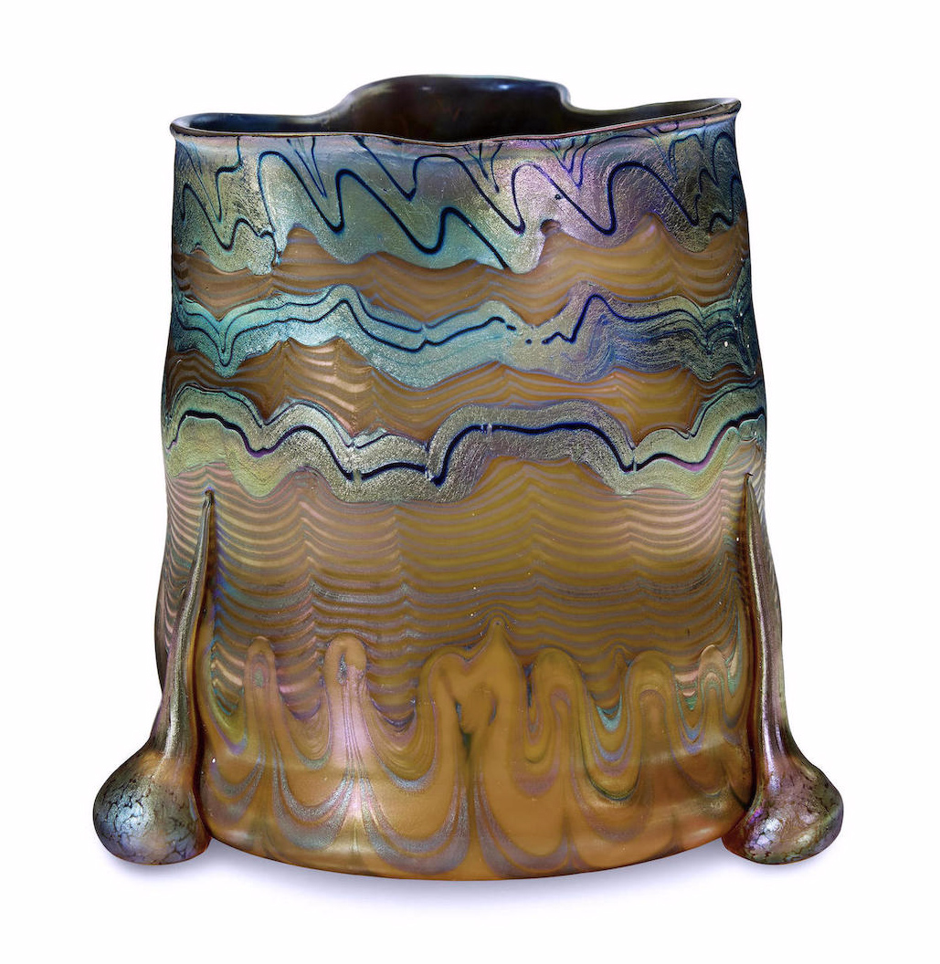 Fantastic Loetz vase, Bonhams lot #29