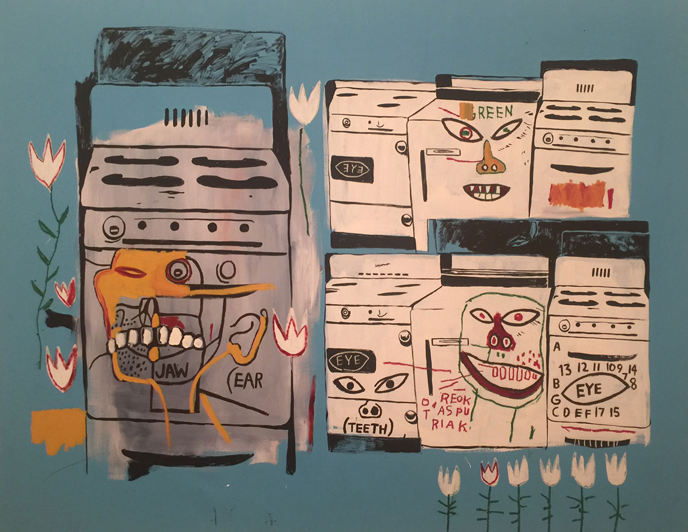 A Basquiat in the Guggenheim's exhibition