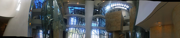 A panorama of the interior