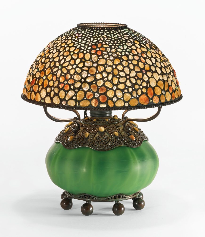 Tiffany Studios Pebble lamp, Sotheby's lot #244