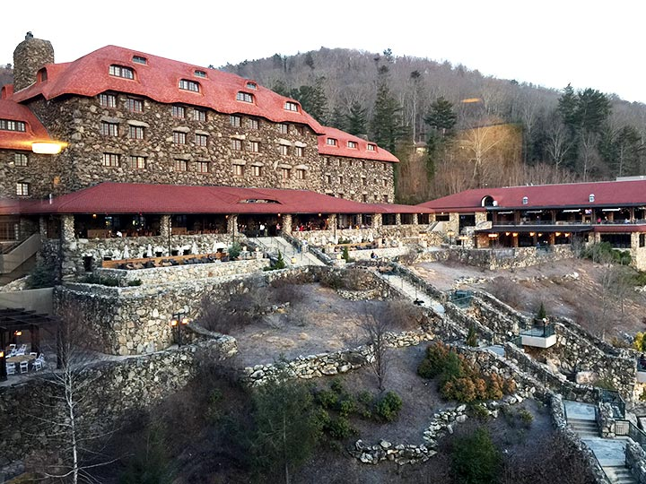 The historic Grove Park Inn
