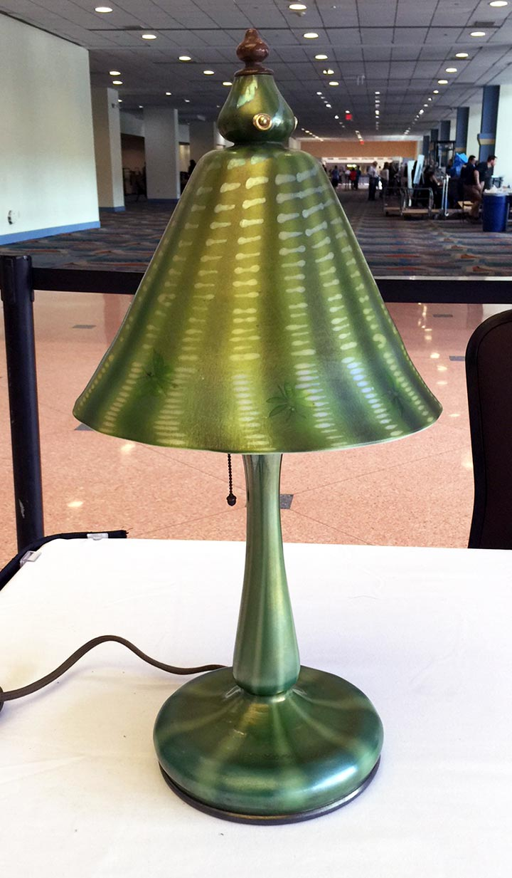 We'll have this fabulous Tiffany lamp at the show