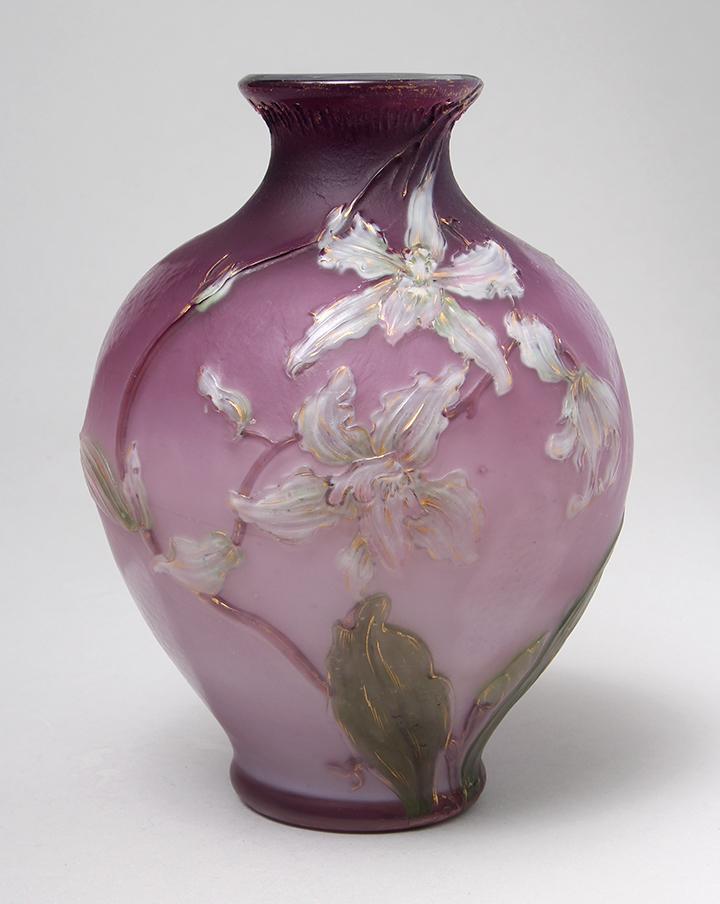 Burgun & Schverer Orchids vase