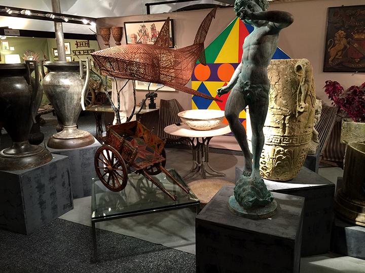 Village Braider, Plymouth, MA has a beautiful display