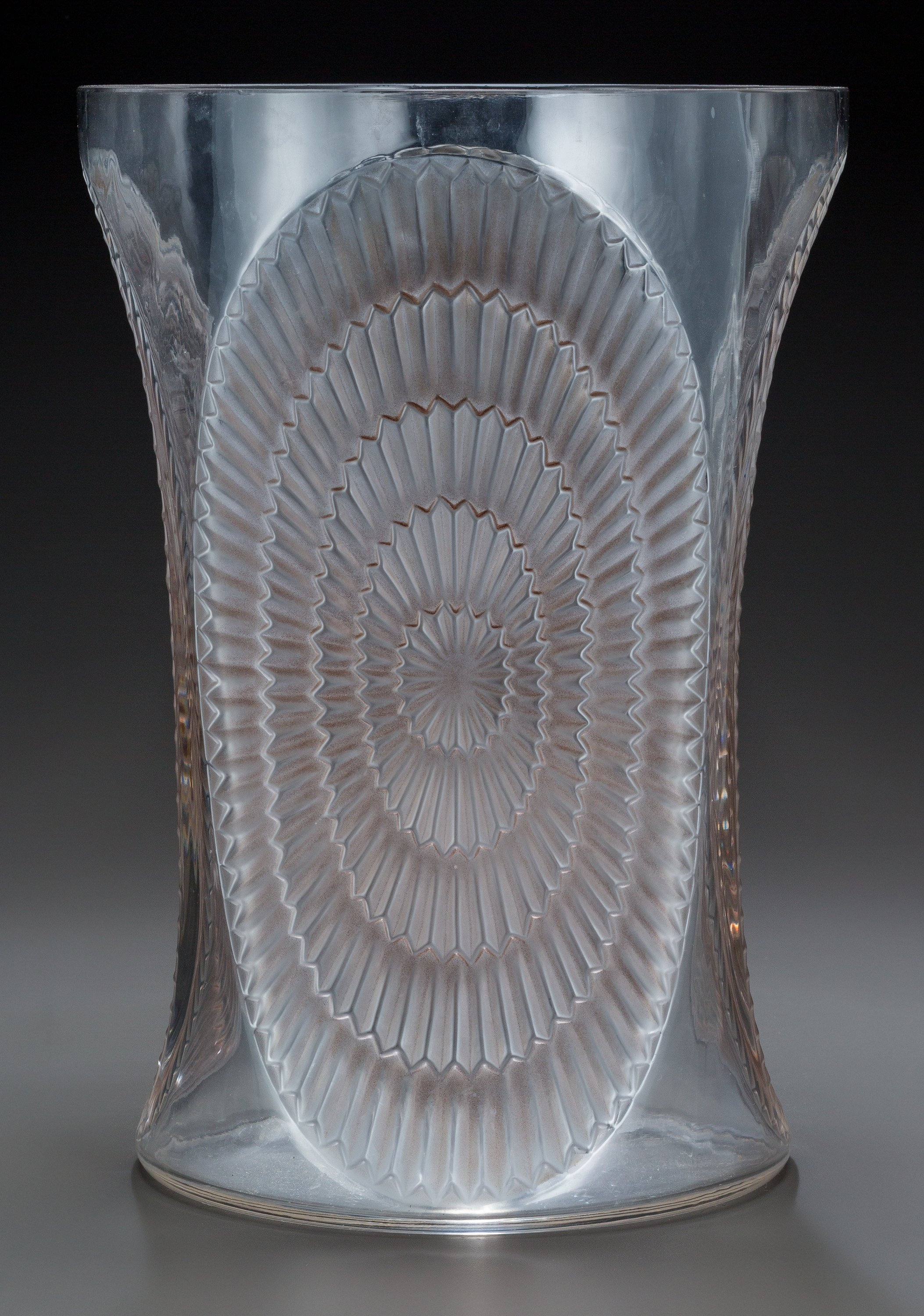 R. Lalique Los Angeles vase, Heritage lot #63277