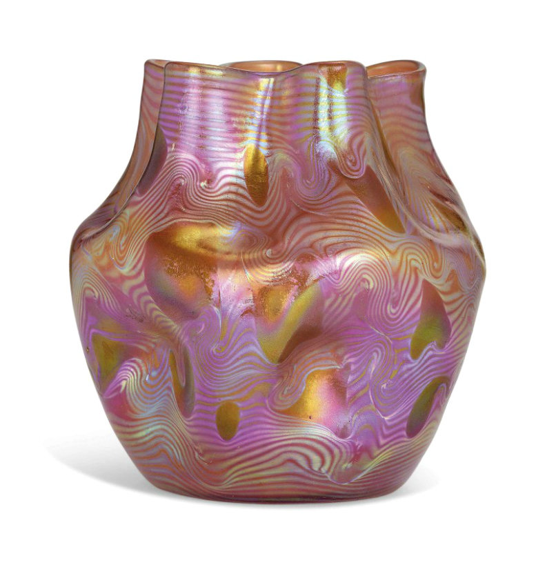 Christies South Kensington Sold A Loetz Glass Collection At Its
