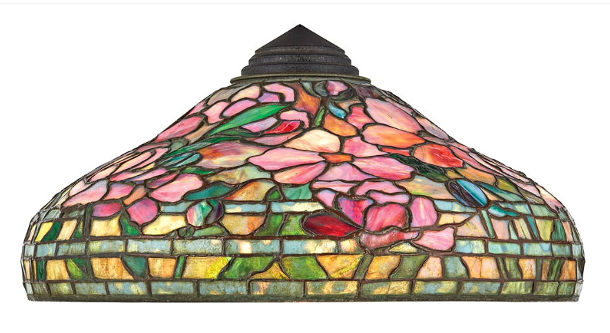 Tiffany Studios Peony shade, Doyle lot #478