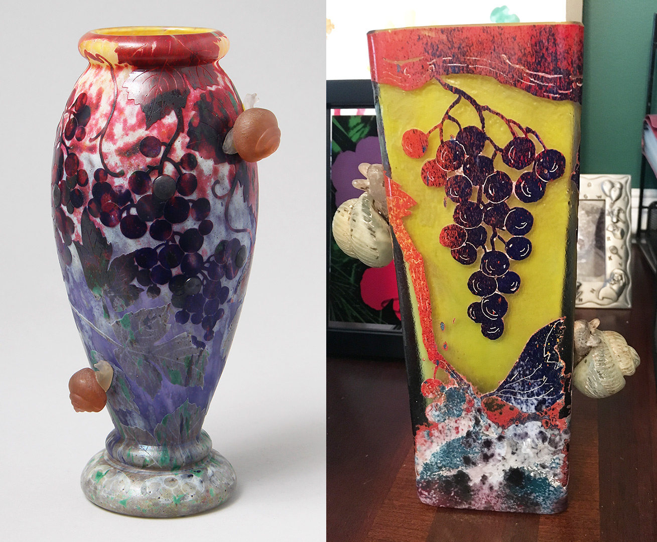 Which vase is fake?