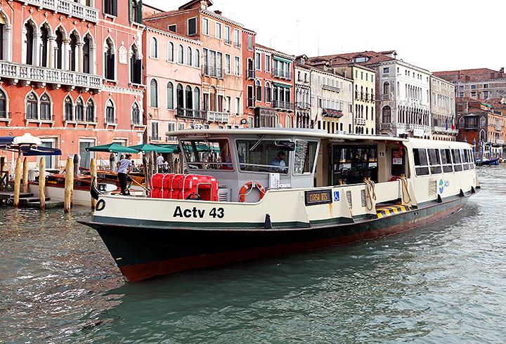 A Venetian vaporetto