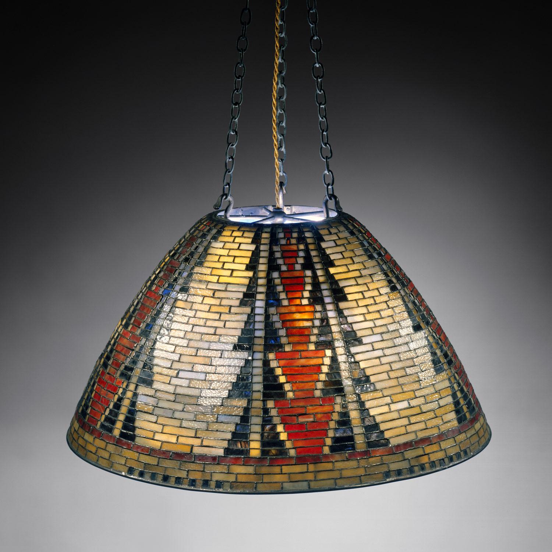 Tiffany American Indian chandelier
