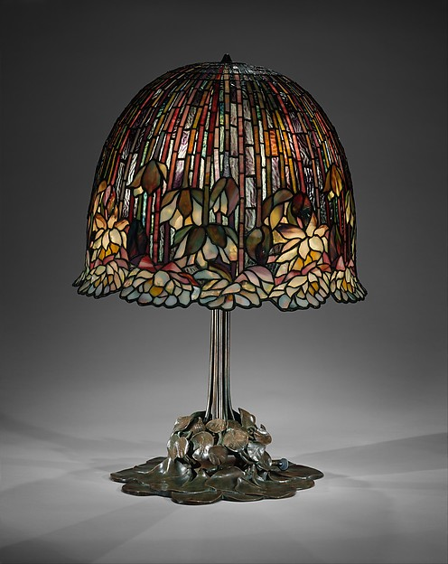 Tiffany Water Lily table lamp, gift of Mr. and Mrs. Hugh J. Grant, 1974