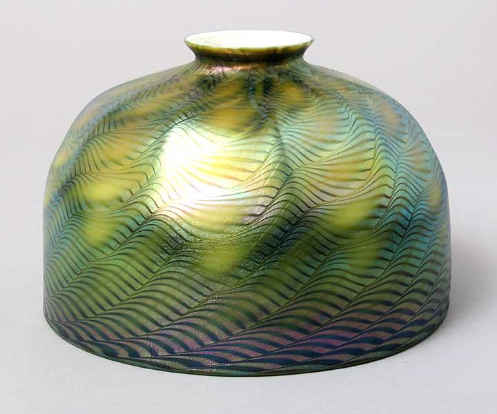 "Tiffany Favrile 7"" diameter shade"