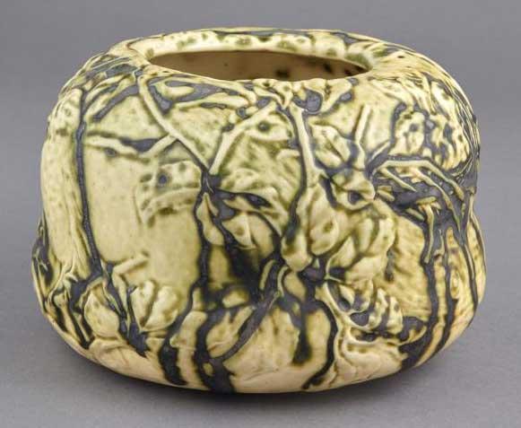 Tiffany Studios pottery vase, Doyle lot #224