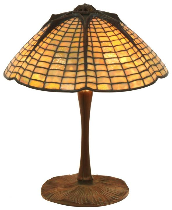 tiffany spider lamp fontaines