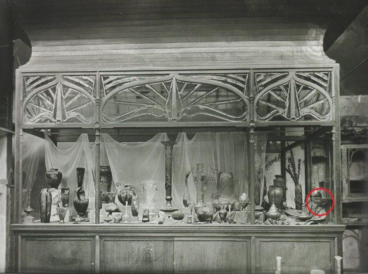 galle marquetry pedestal bowl 6