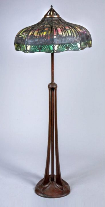 handel lamp france