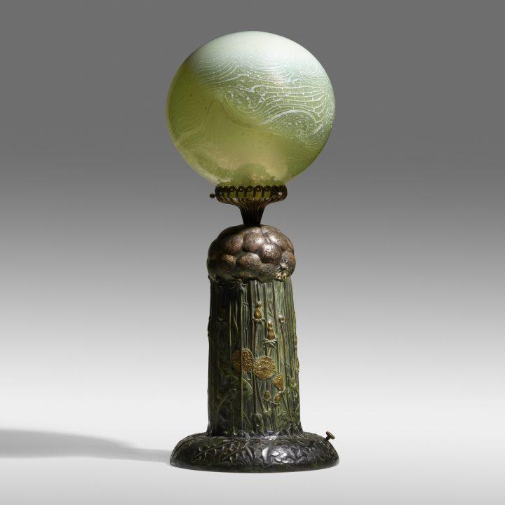 tiffany dandelion lamp rago