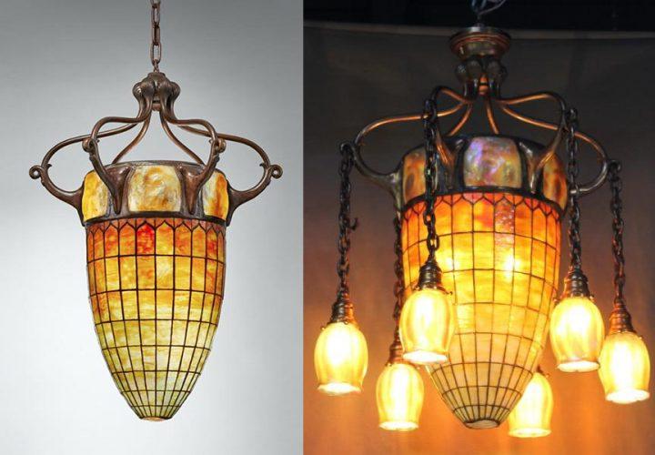 Tiffany chandelier comparison