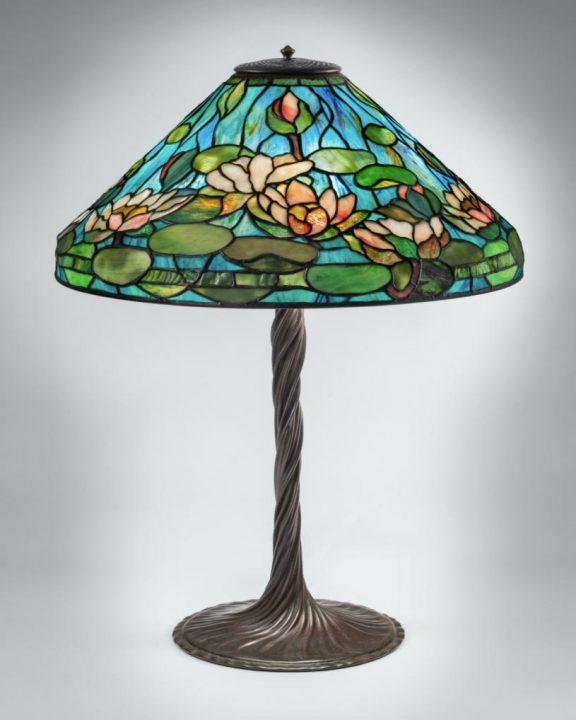 tiffany 20 pond lily lamp christies