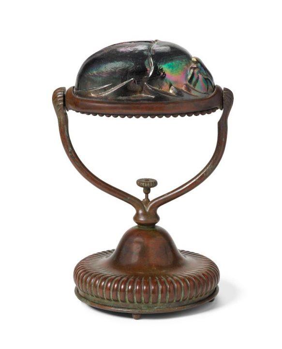tiffany scarab lamp